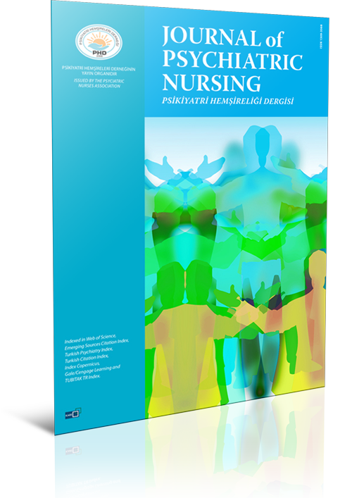 Journal Of Psychiatric Nursing